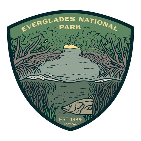 Everglades National Park Sticker
