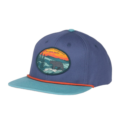 Smoky Mountain National Park Hat - Cadet/Lake