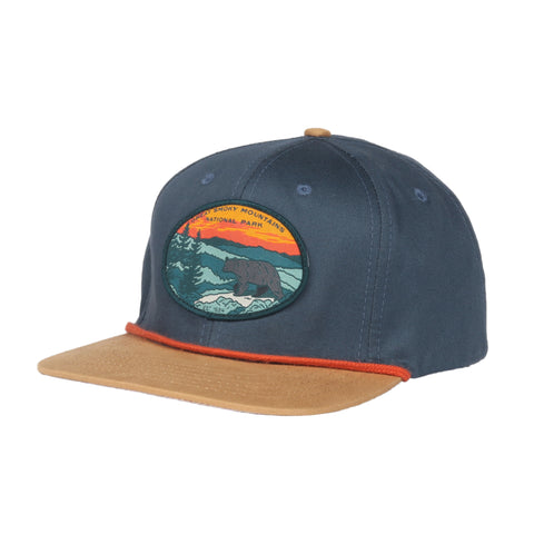 Smoky Mountain National Park Hat - Storm/Honey