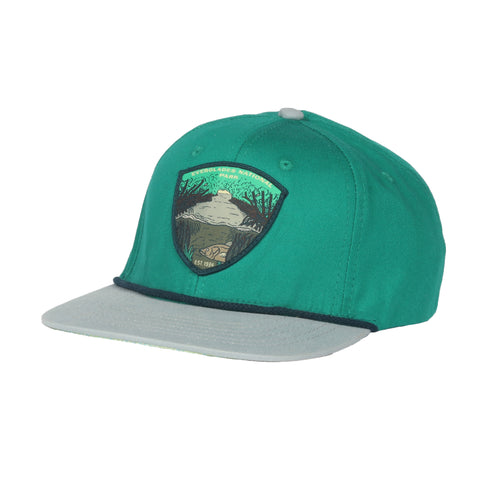 Everglades National Park Hat - Jade/Fog