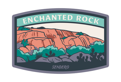 Enchanted Rock Sticker