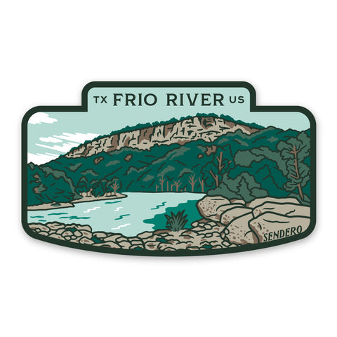 Frio River Sticker
