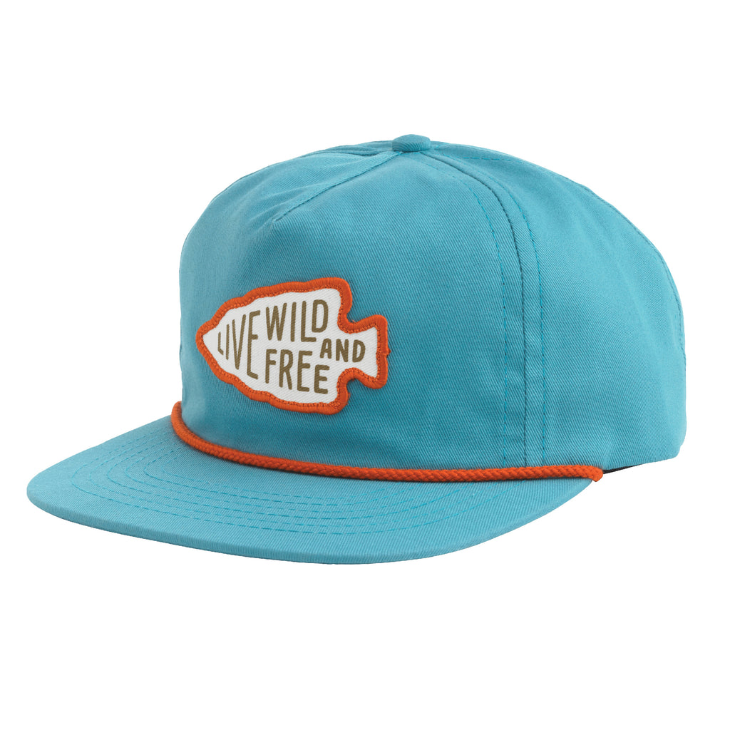 Live Wild and Free Hat