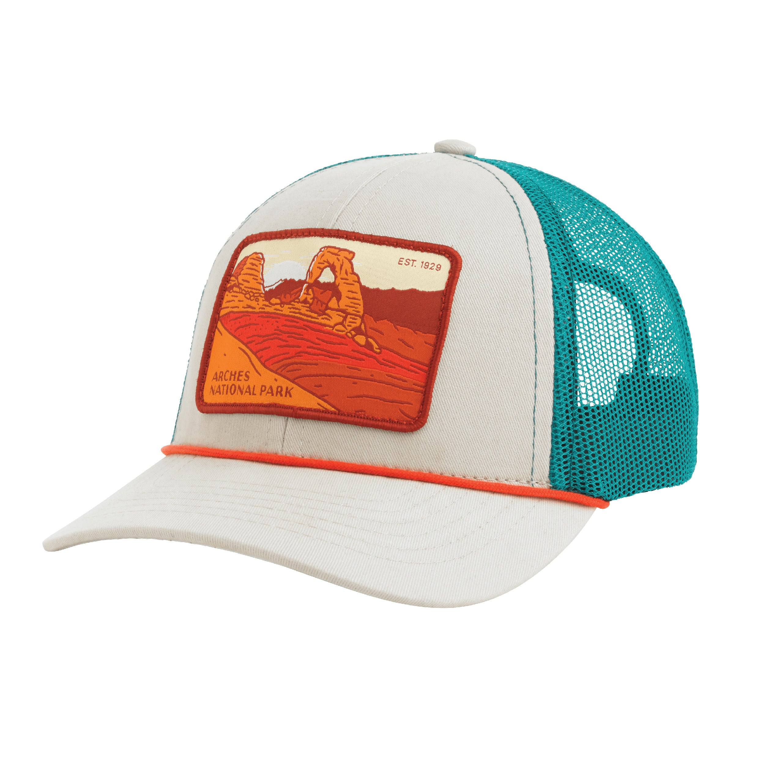 a9babe1f7 Arches National Park Hat Meshback – Sendero Provisions Co.