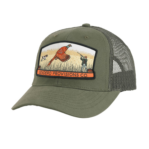 Bird Hunter Hat - Jalapeno/Olive