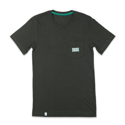Sendero Pocket Tee - Military Green