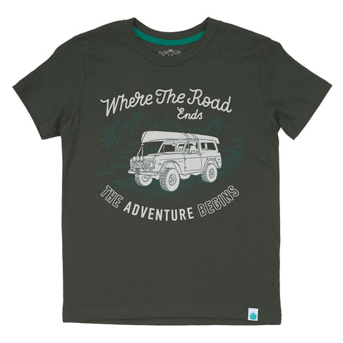 Where The Road Ends - Kid's Shirt