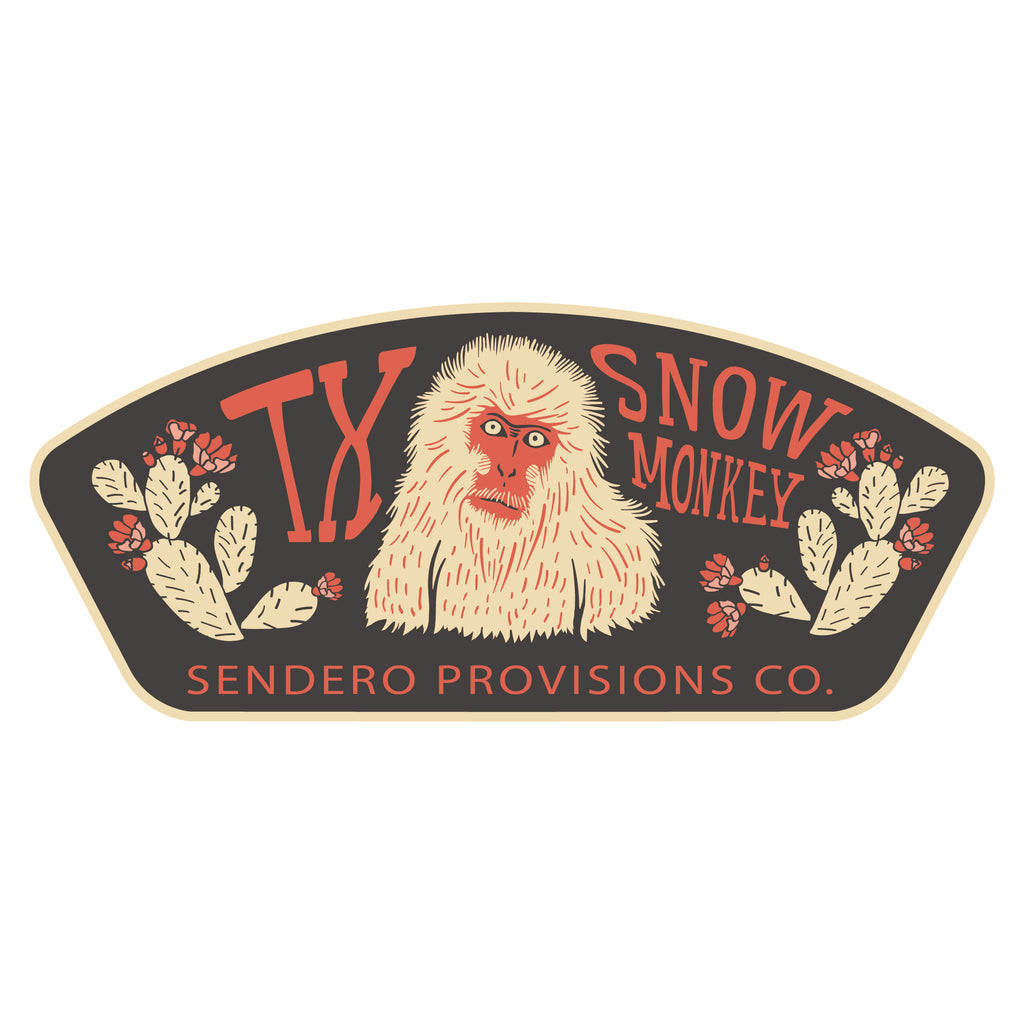 Snow Monkey Sticker
