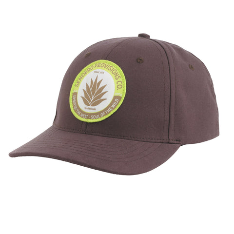 Agave Badge Hat - Raisin