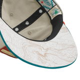 SPC131-1 & SPC131-2 Arches National Park Hat (Visor View)