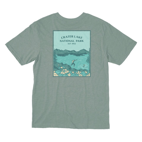 Crater Lake National Park shirt from beautiful Oregon