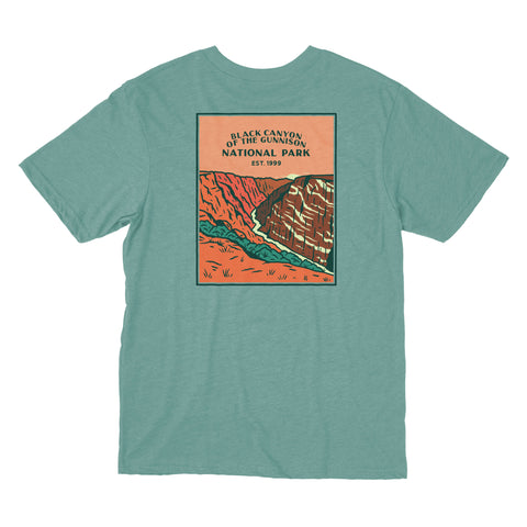 Black Canyon of the Gunnison National Park shirt from beautiful Colorado