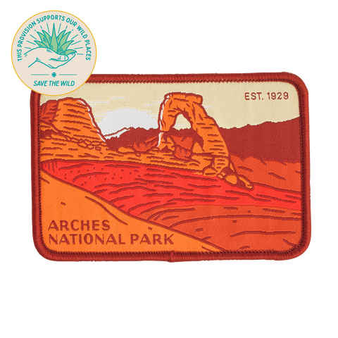 SPC921 Arches National Park Patch
