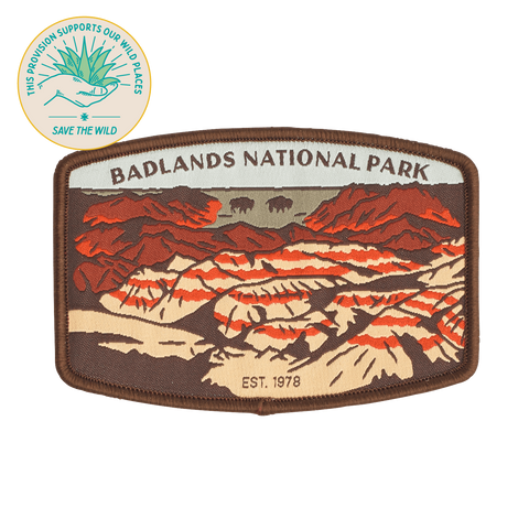 SPC923 Badlands National Park Patch
