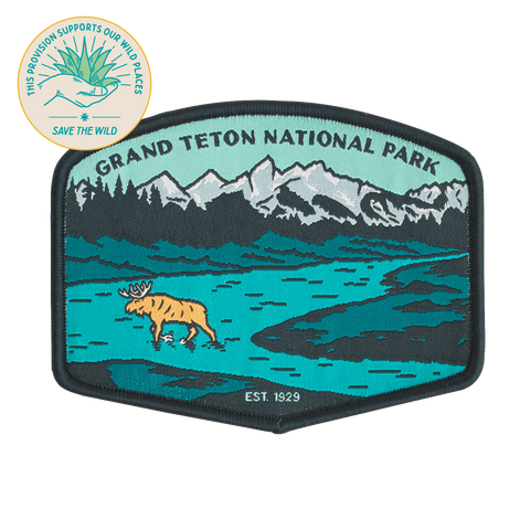 SPC924 Grand Teton National Park Patch