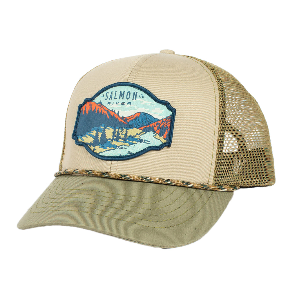 Salmon River Hat Meshback