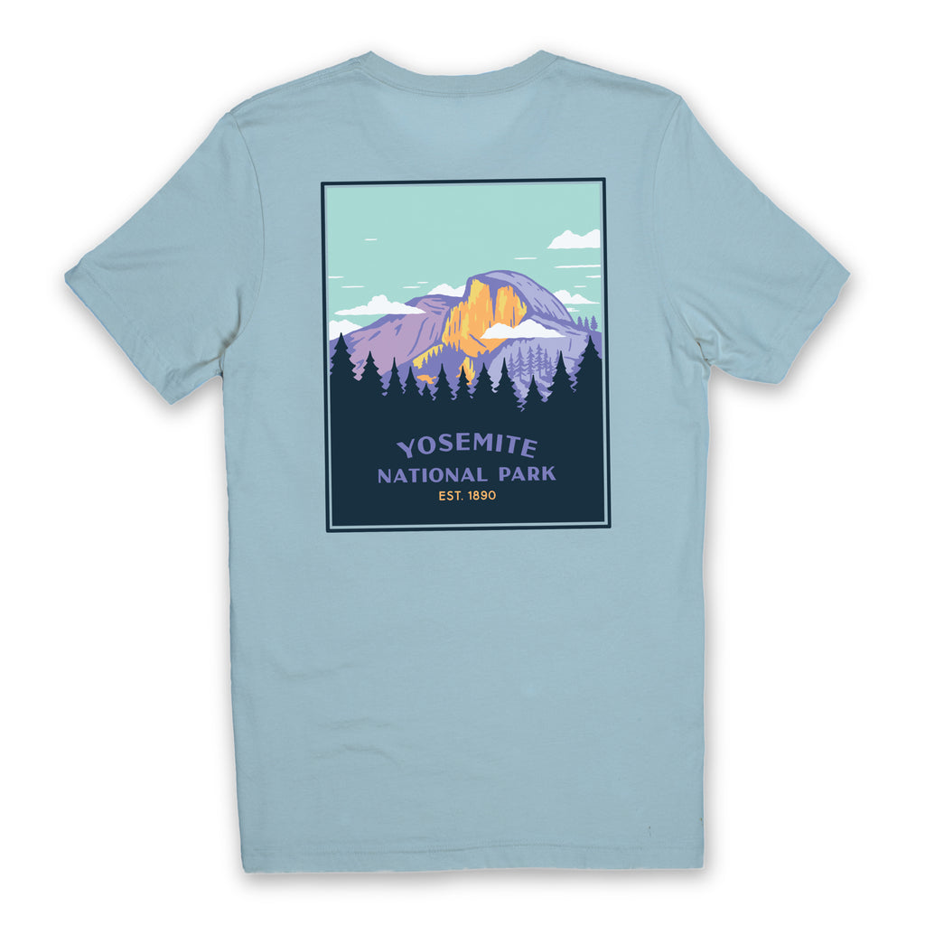Yosemite National Park Shirt - Ocean