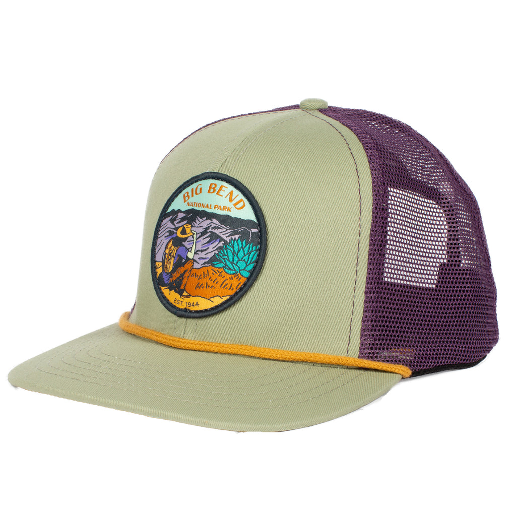 Big Bend National Park Meshback Hat