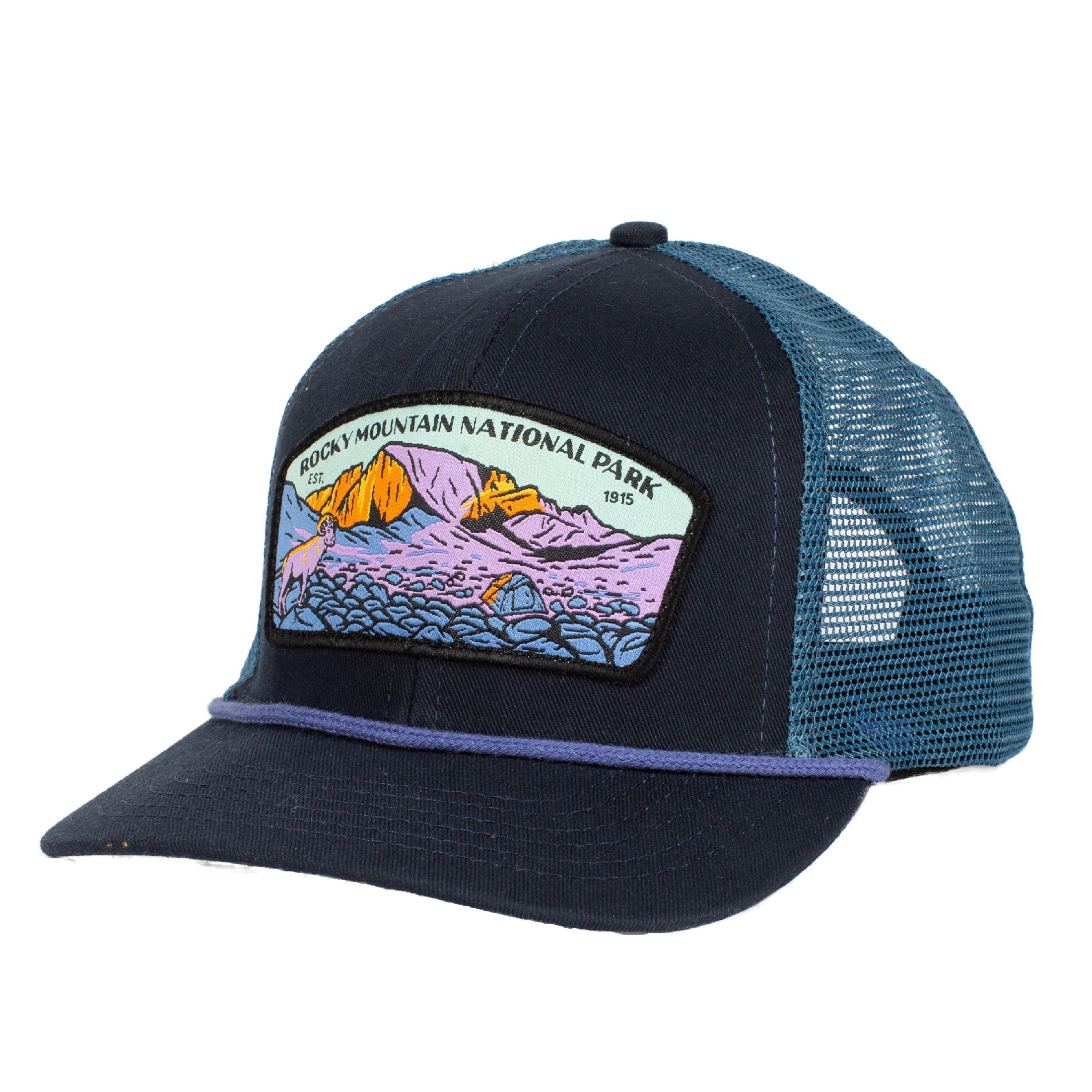 2a27ffbf5 Rocky Mountain National Park Hat Mesh – Sendero Provisions Co.