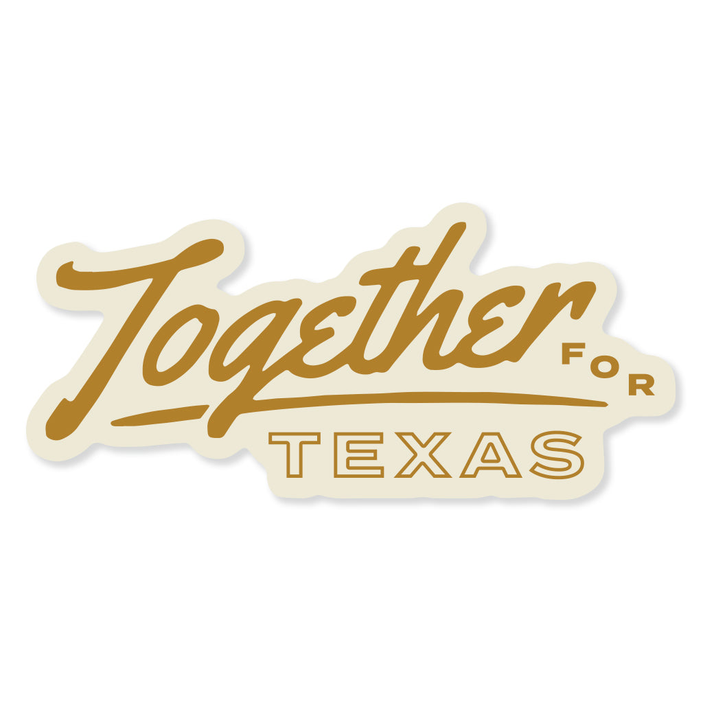Together For Texas- Script