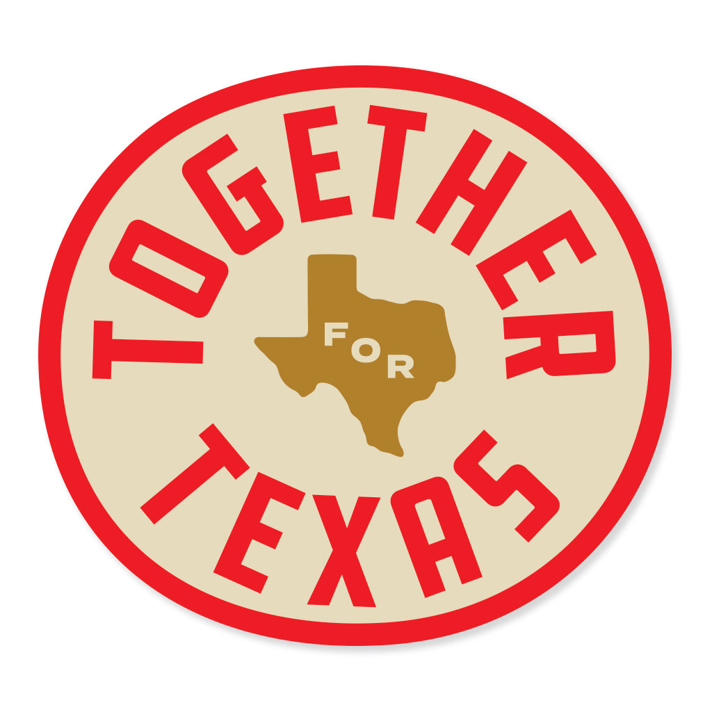 Together For Texas- Circle