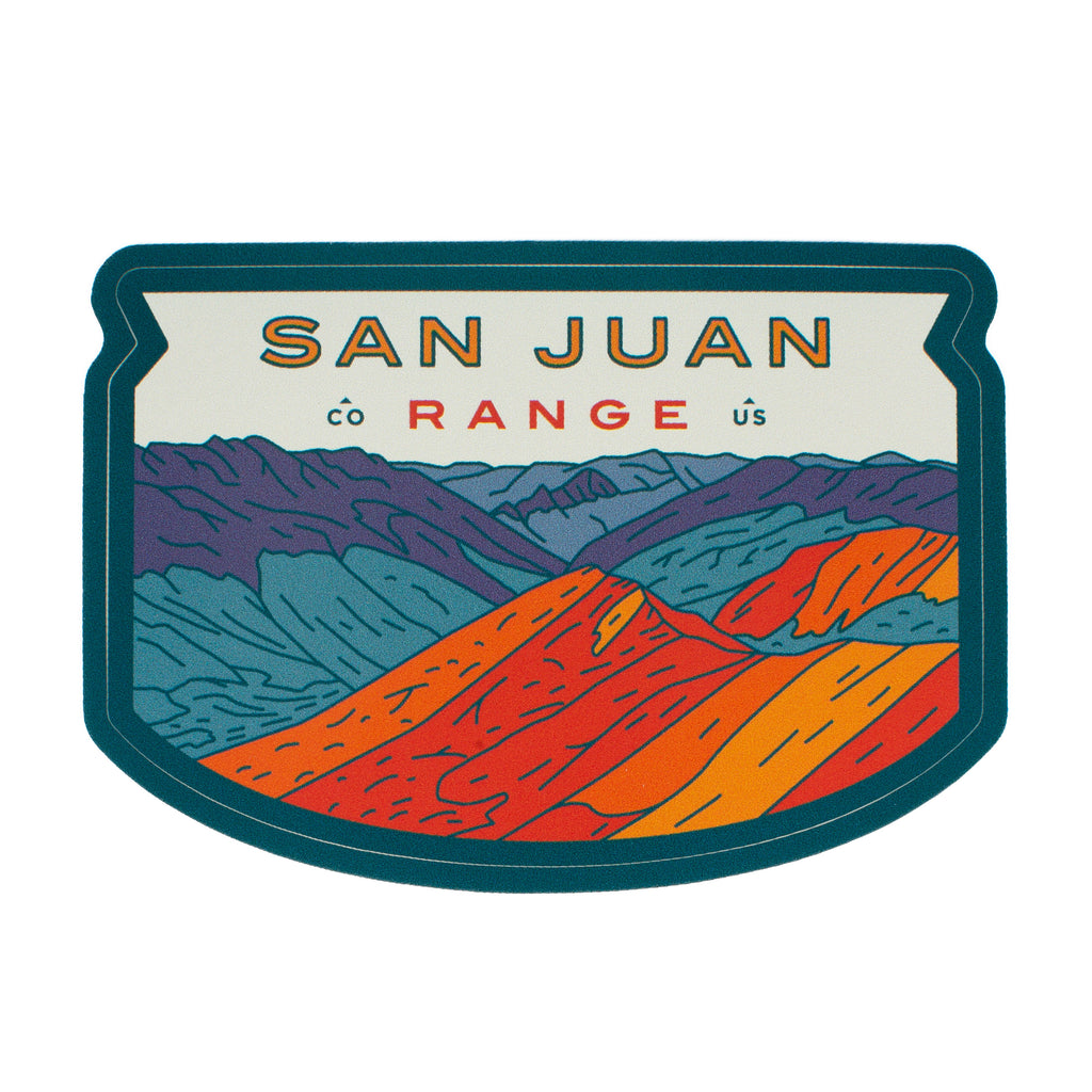 San Juan Range Sticker