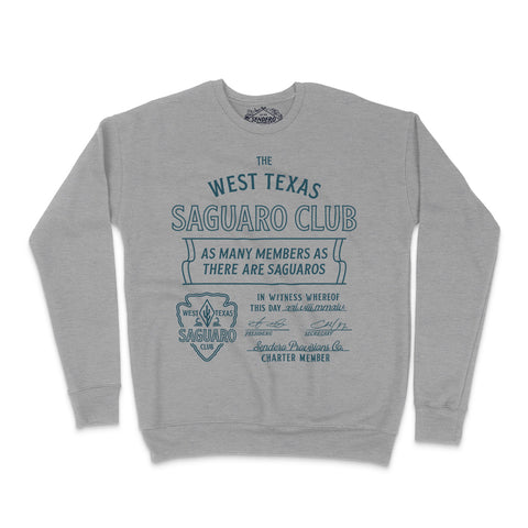 Texas Saguaro Club Sweatshirt