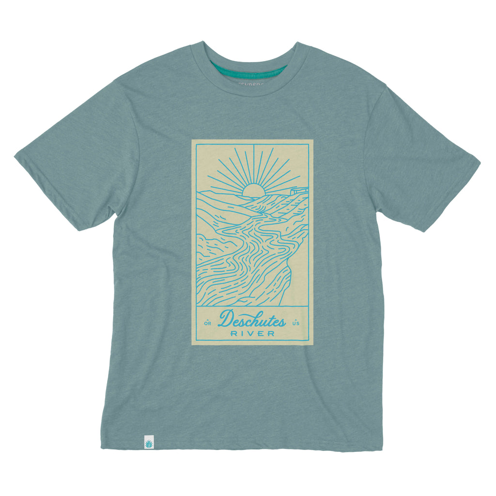 Deschutes River shirt from beautiful Oregon