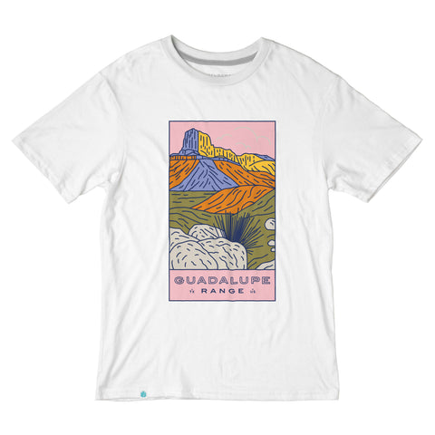 Guadalupe Range shirt from beautiful West Texas