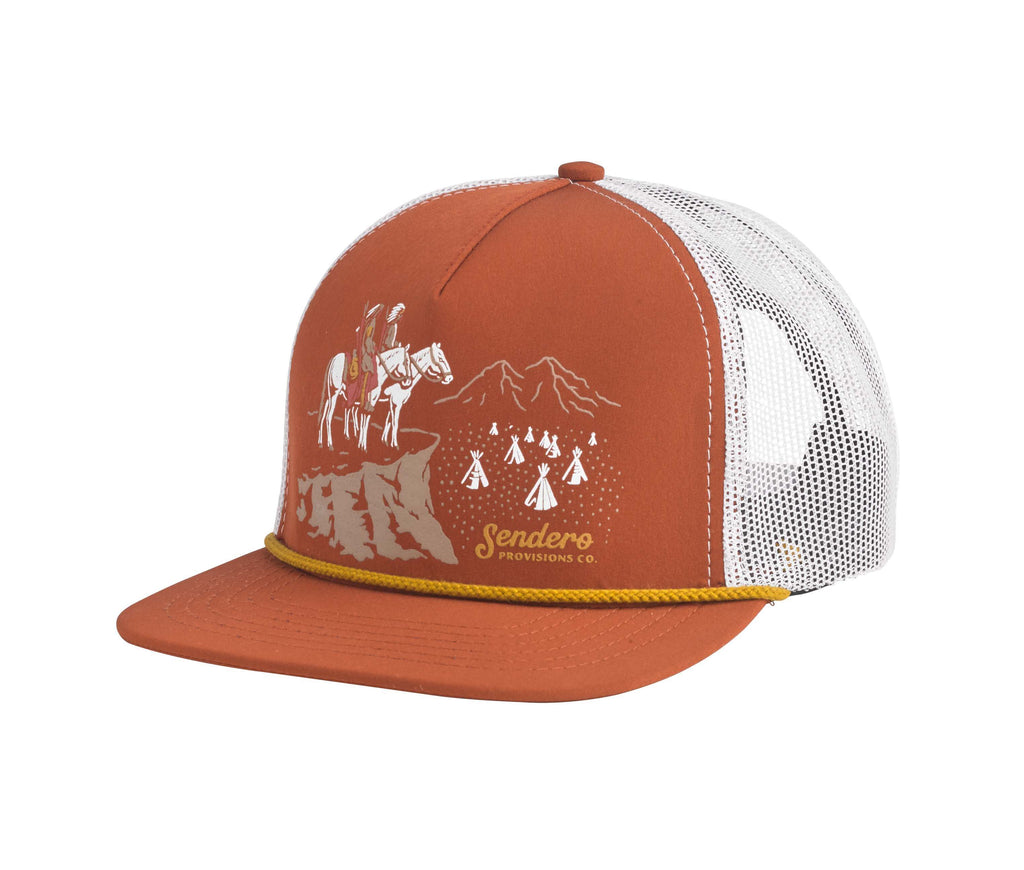 Lords of the West Hat - Terracotta Red