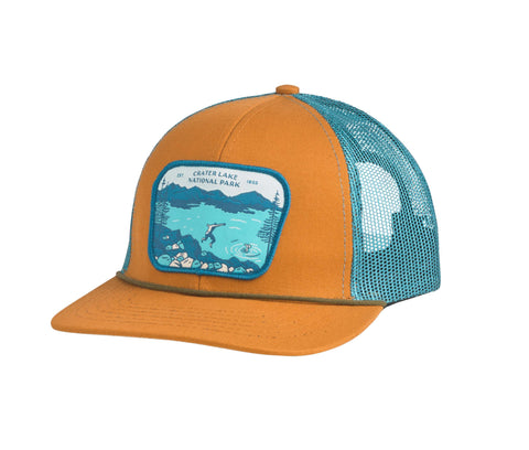 Crater Lake National Park Hat Meshback