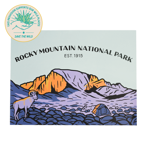 SPC402 Rocky Mountain National Park Print