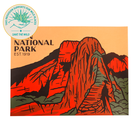 SPC403 Zion National Park Print