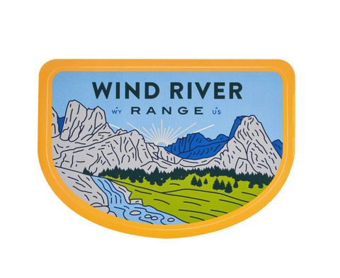 Wind River Range Sticker