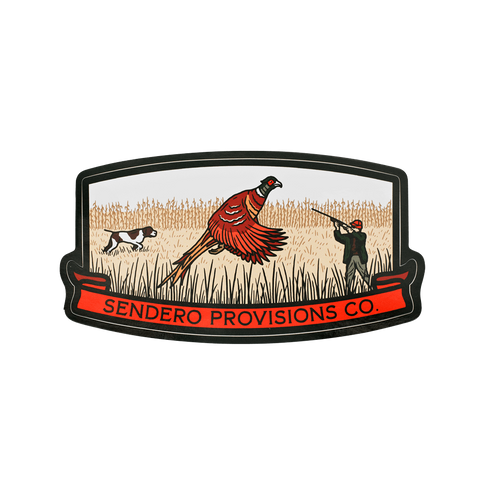 Bird Hunter Sticker
