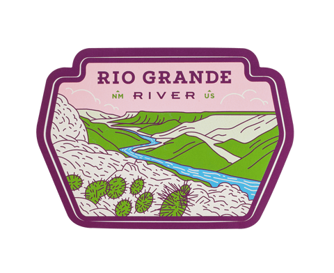 Rio Grande River Sticker