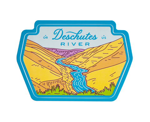 Deschutes River Sticker
