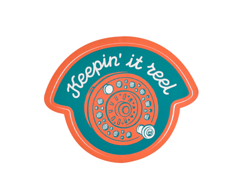Keepin' It Reel Sticker