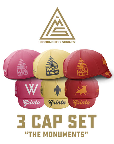 Monuments + Shrines 3 Cap Set