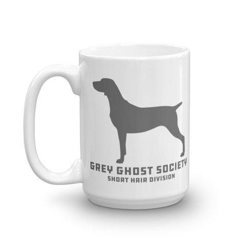 Grey Ghost Society SHORT Division + Weim Stack : Coffee Mug 15oz