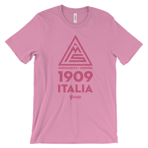 1909 Pink Italia Badge Shirt