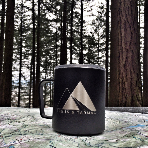 Trails and Tarmac Camp Mug
