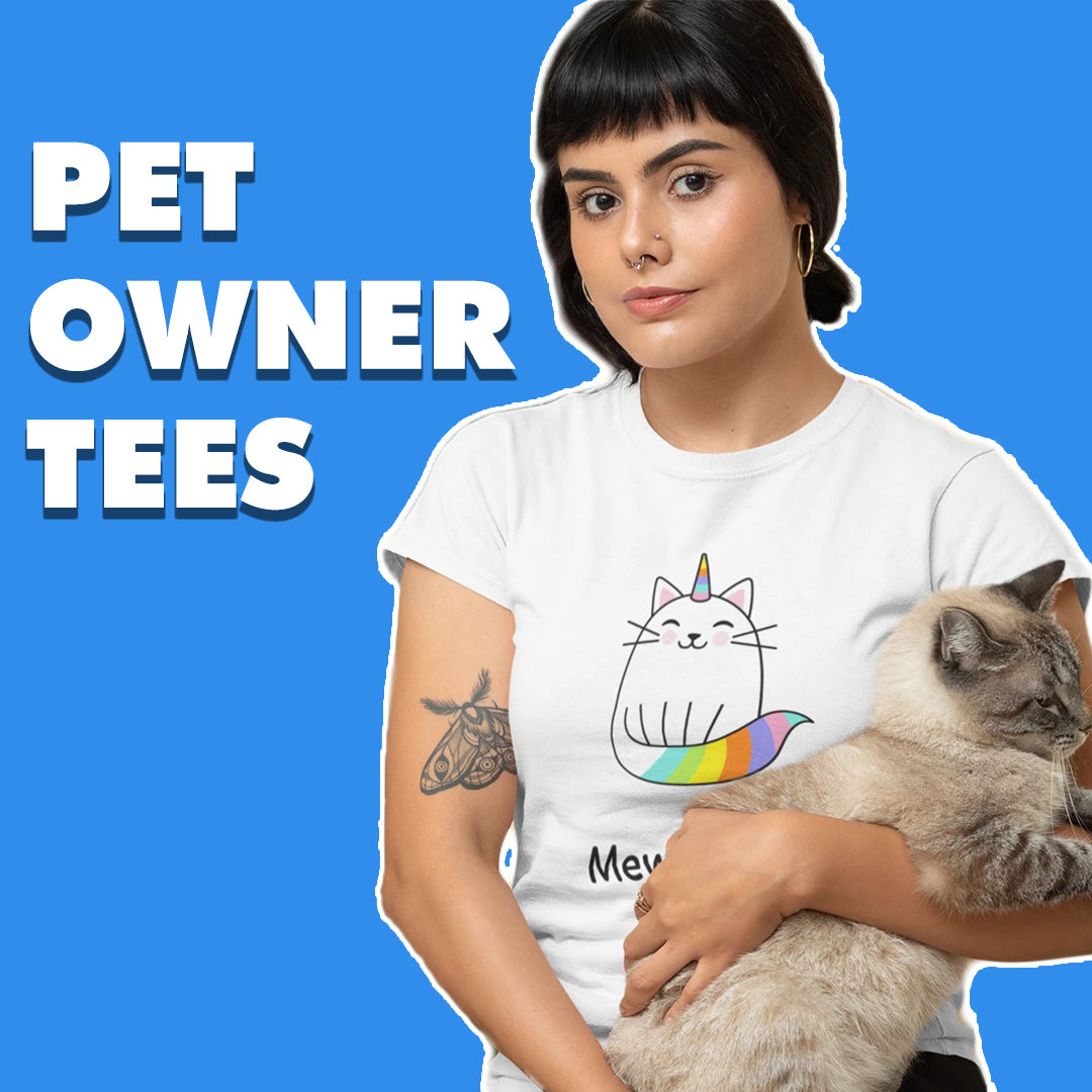 pet owner tees collection
