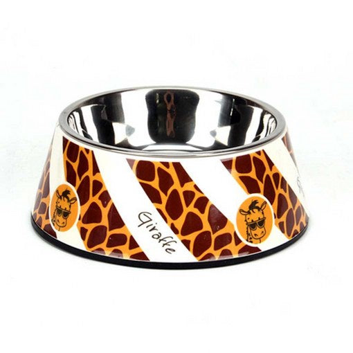 dog bowl with stand