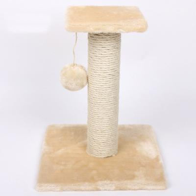 Cat Toys - Interactive Tree Tower beige