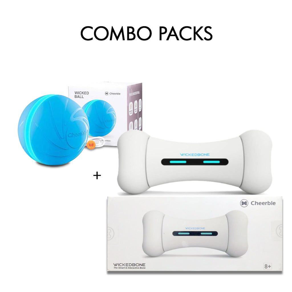 Ultimate Interactive Dog Toy combo pack