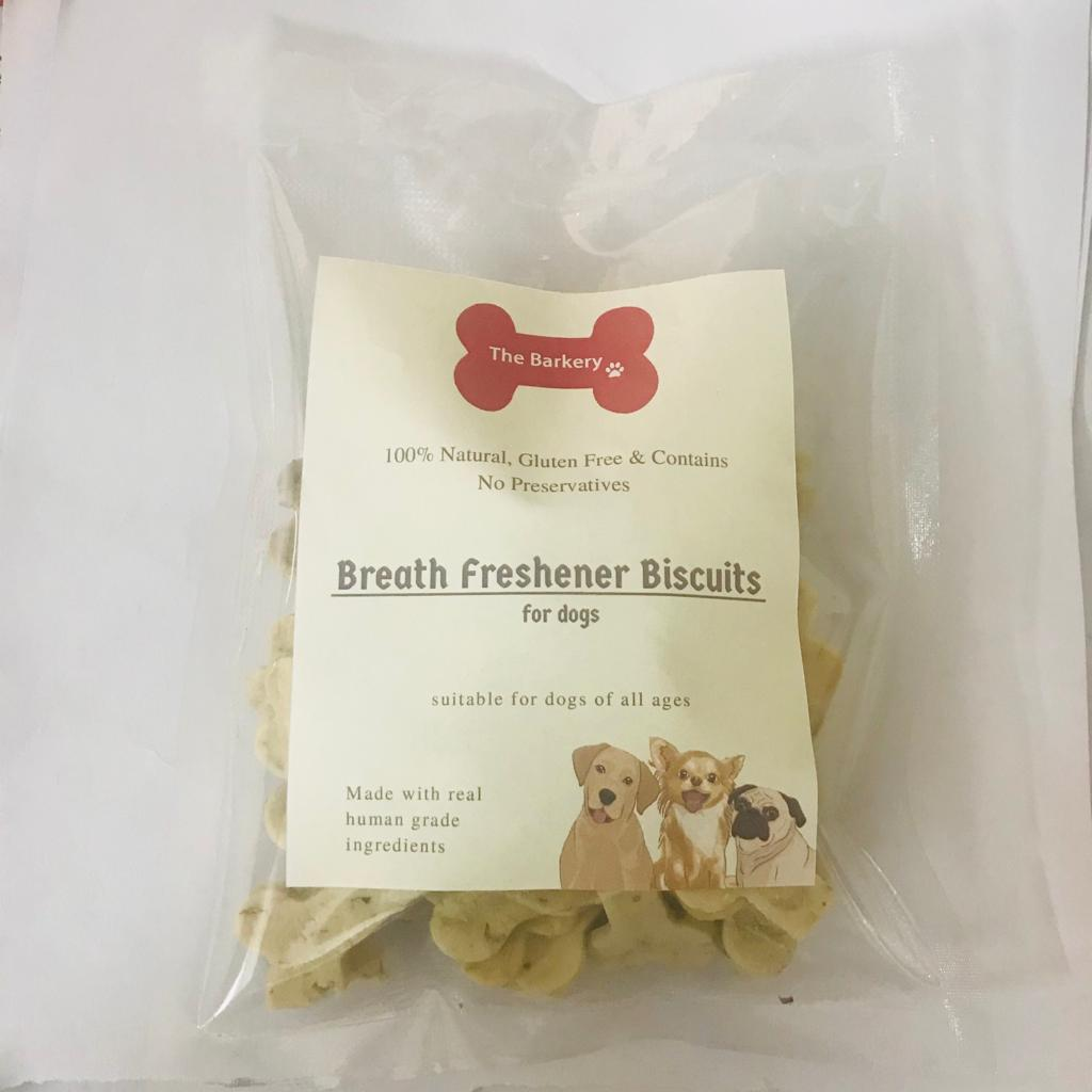 Breath Freshener Dog Biscuits