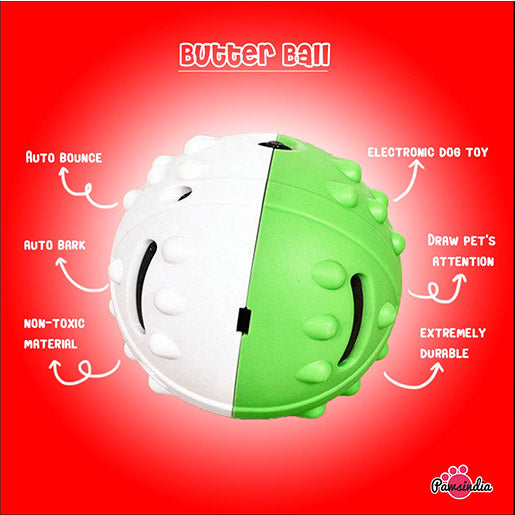 interactive butter ball for dogs