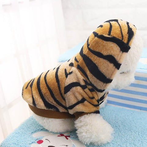 Dog Clothes Cute Cartoon Tiger Dog