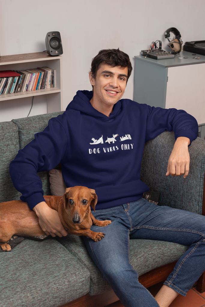 Dog Vibes Only Unisex Hoodie